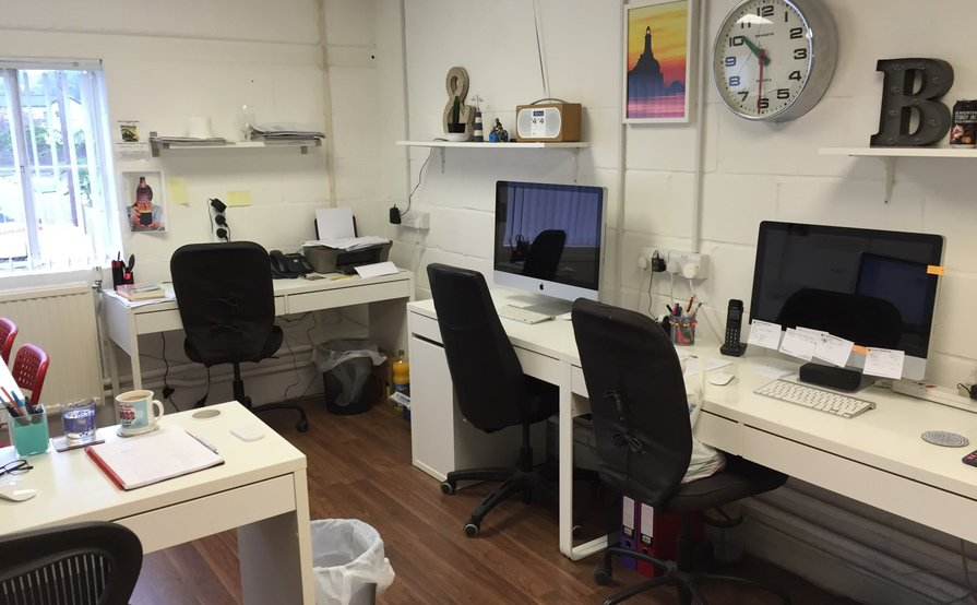 Desk Space in small design company based in Dorking, Surrey. Would suit Web designer/developer - some overflow work