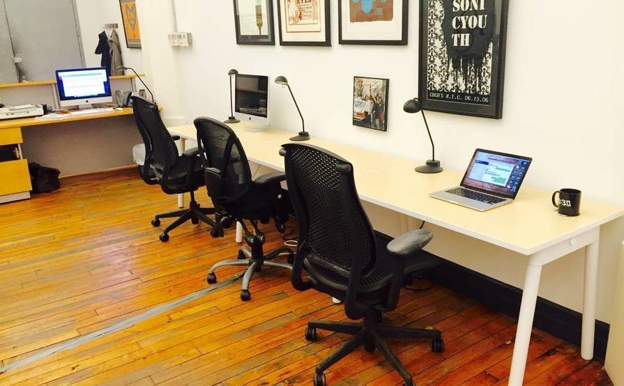 Desks Available at Ground Control Touring