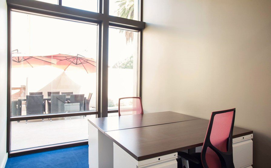 2-3 Person Window Office