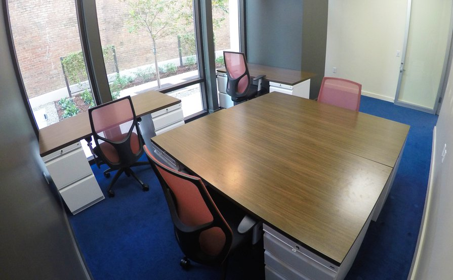 4-5 Person Large Window Office
