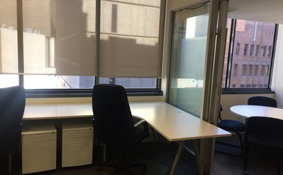 City Hot Desk. Modern Office. Central CBD location