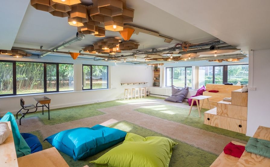 Co-Creation Space for creative meetings