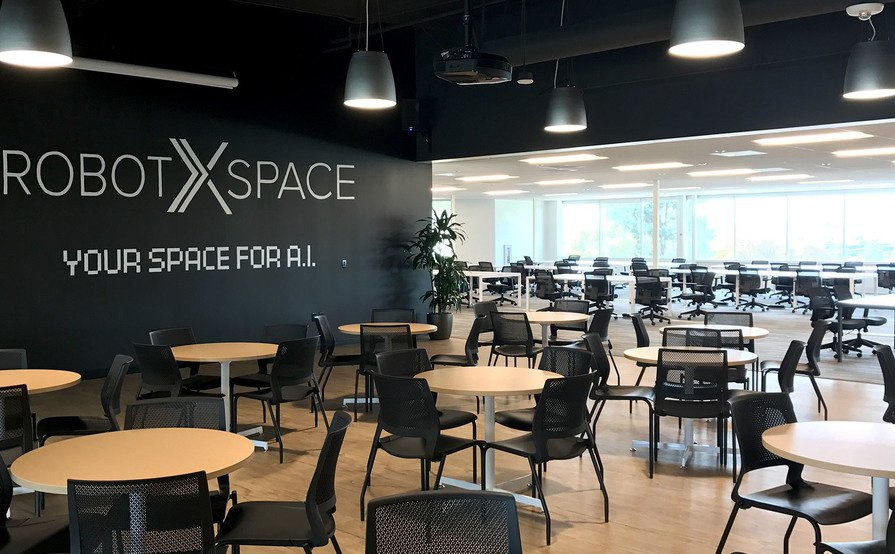 Robotics-themed Event Space For Up To 100 People With Great Window Views