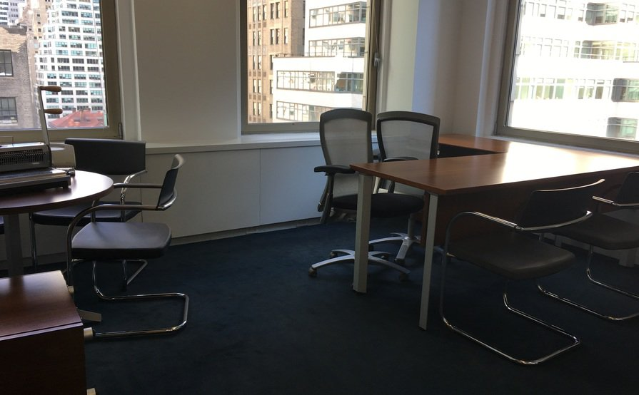 Midtown Manhattan Private Corner Office