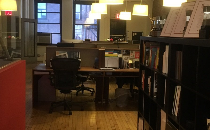 8 desks available in Chelsea Design Firm