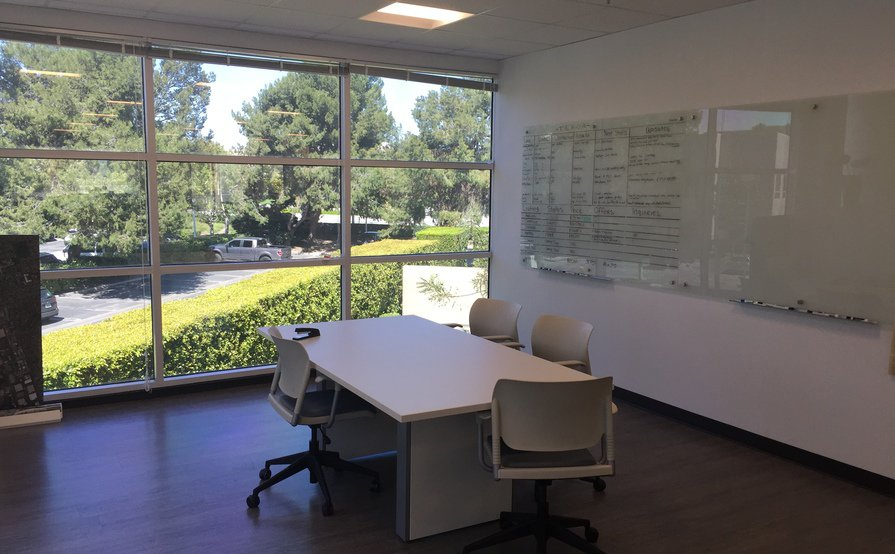 Open Plan Dedicated Desks
