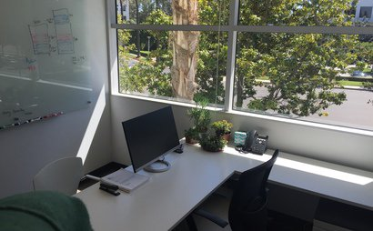 Private Office with Window View