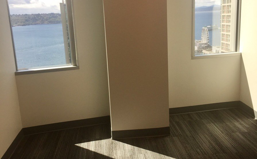 2 offices in downtown Seattle