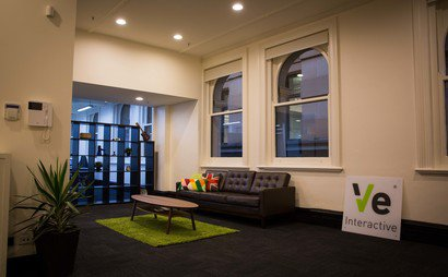 Modern co-working at Millions House in the centre of Sydney