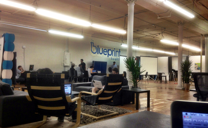 Blueprint Health's 12,000 sq. foot loft in SoHo