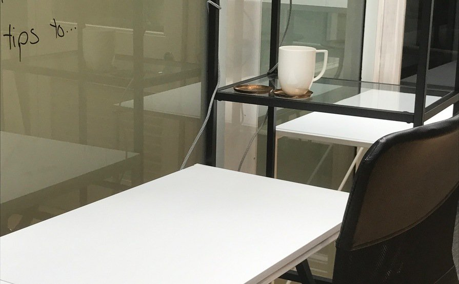 2 Vacant Desks in a Light-filled Sydney CBD office