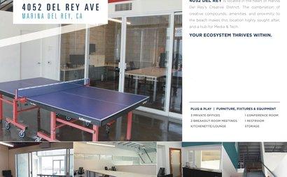 Marina Del Rey - Coworking Space