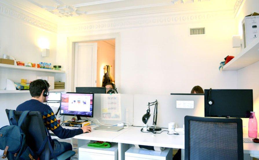 Weekly coworking desk