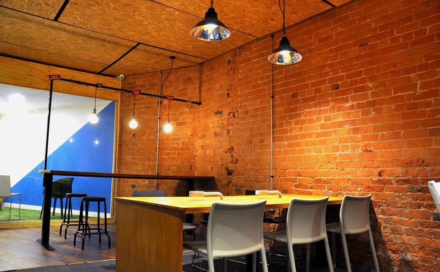 Quirky vibrant co-working community space within Loughborough, near loughborough train station