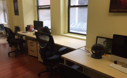 Window Desk in Animation Studio