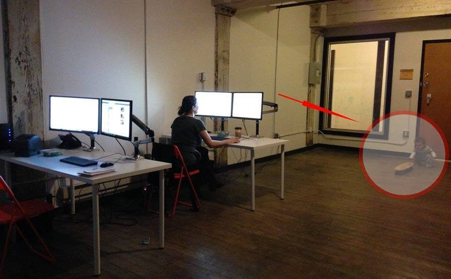 Flexible Shared Desk Space or Shared Warehouse Space (skateboarding kiddo not included)
