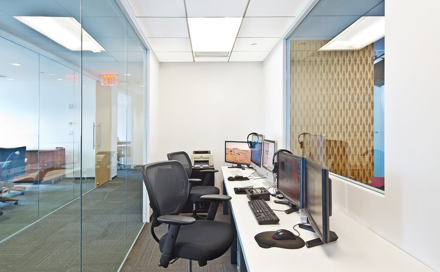 Dedicated Workstations in Spacious Modern Suite with Perks