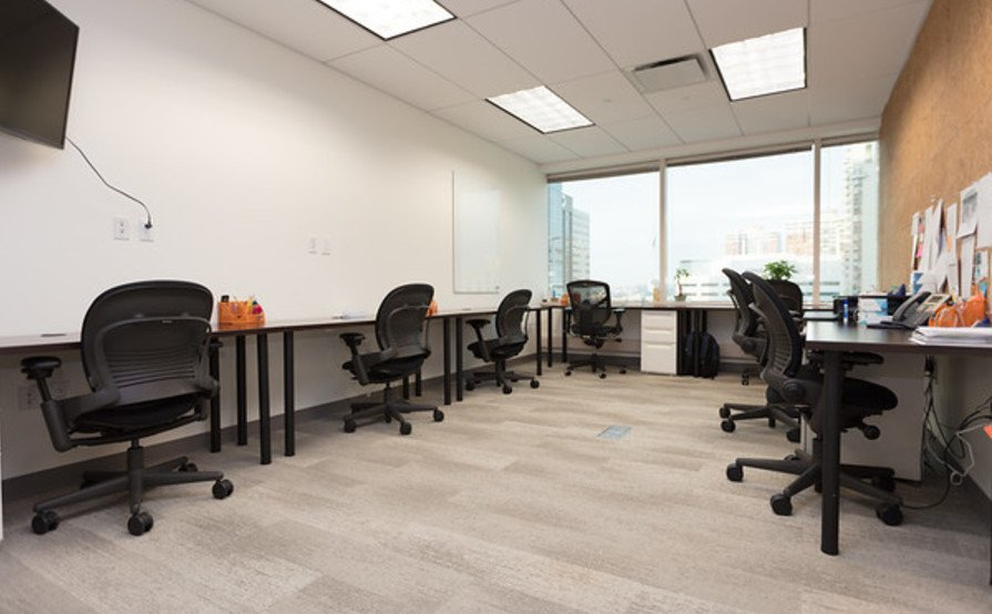 Team Office for 9 in Downtown Jersey City