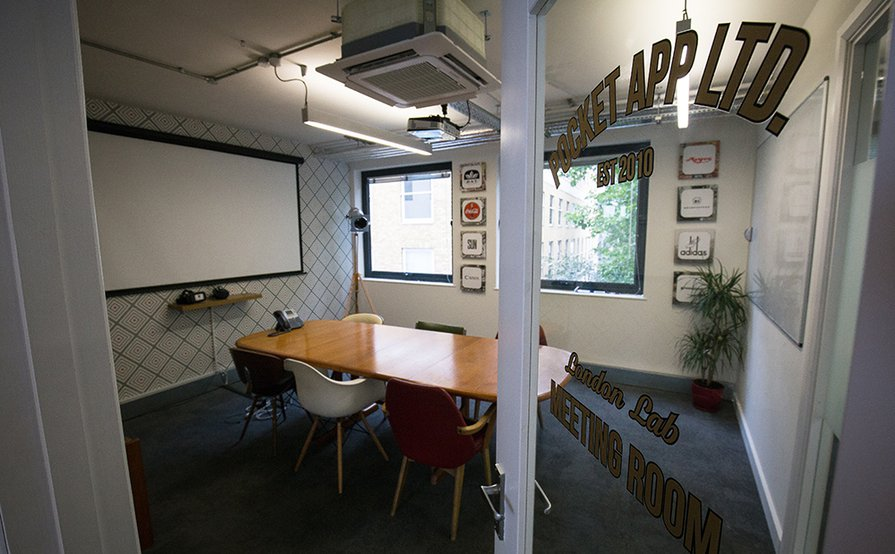 Up to 6 desks sharing with Pocket App in a vibrant & fun office close to Chancery Lane and Farringdon tube. That offers an all inclusive rate - no nasty extras like all the rest - £350 first 3 months then £375.