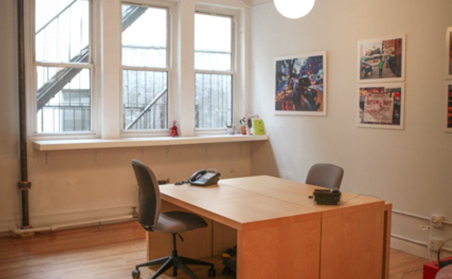 Friendly, wired, hospitable office space
