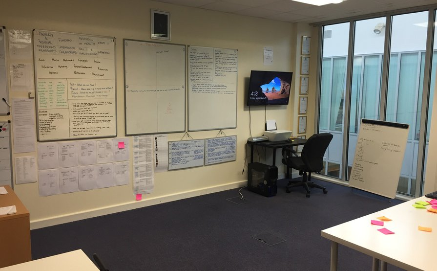 Office Share (Huge Space & Furnished)