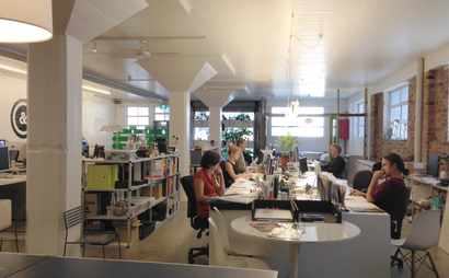 Green Wall Warehouse Studio
