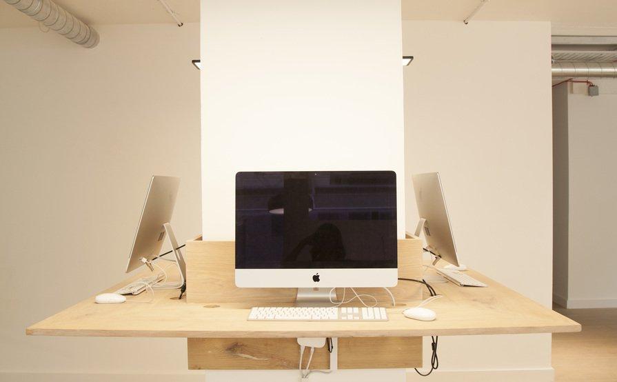 Desk + iMac