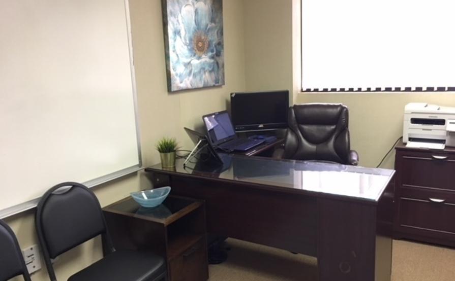 my office desk. my office desk space