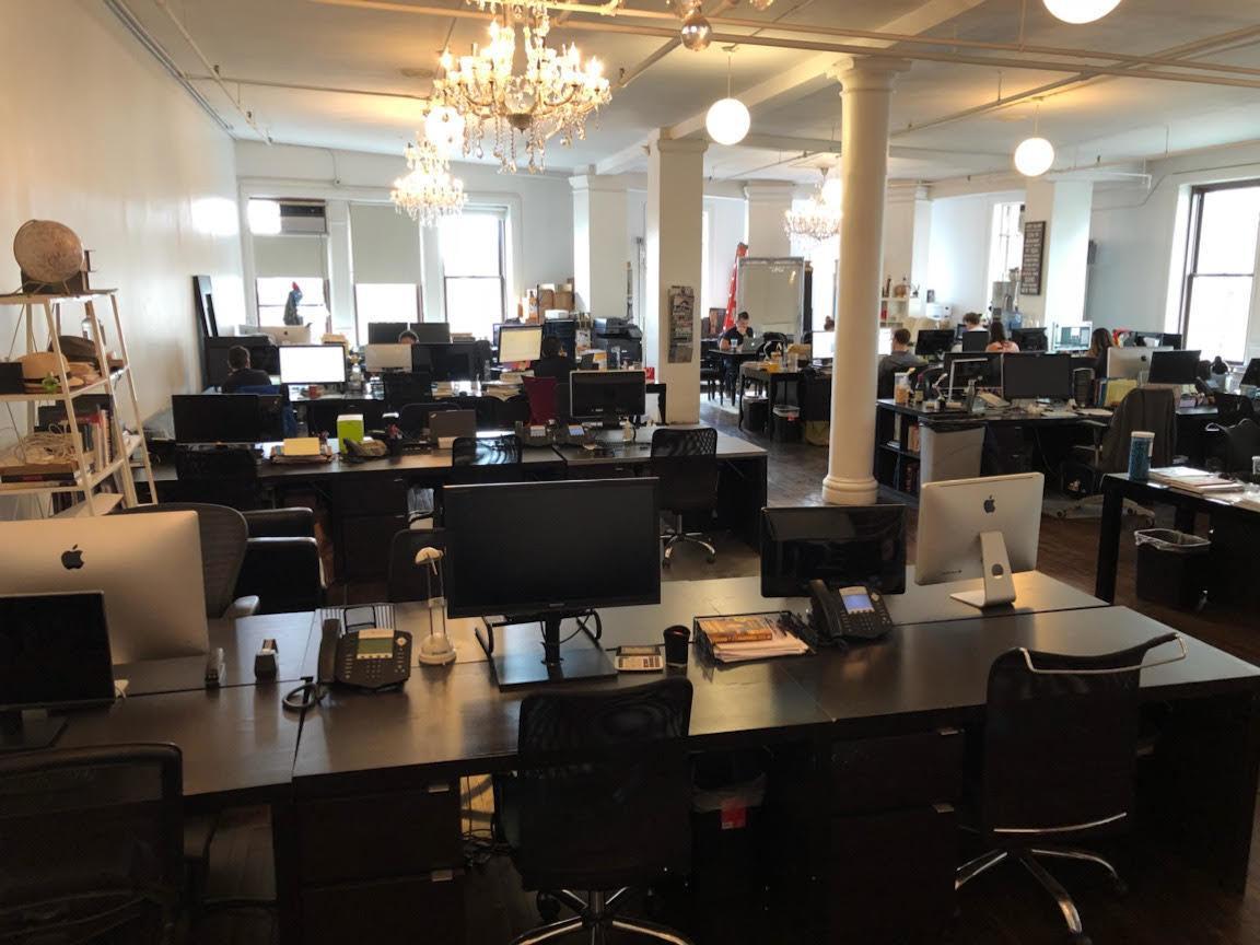 Union Sq/Flatiron - Large Open Office   Desks Near Me