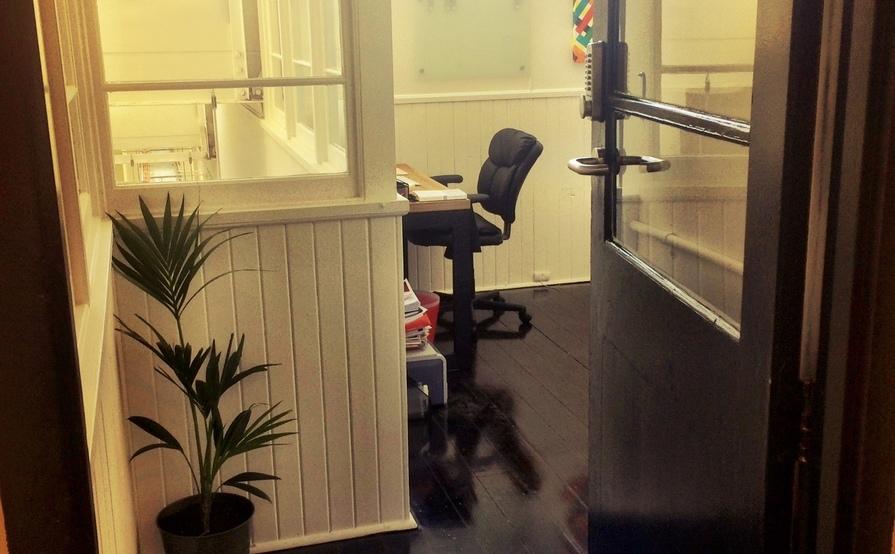 One desk