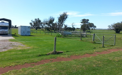 Area for a RV /caravan or boat in Reinscourt (Available starting 1-Nov)