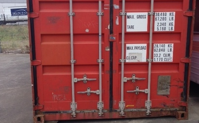Container 20' in Moorabbin - UNAVAILABLE until further notice