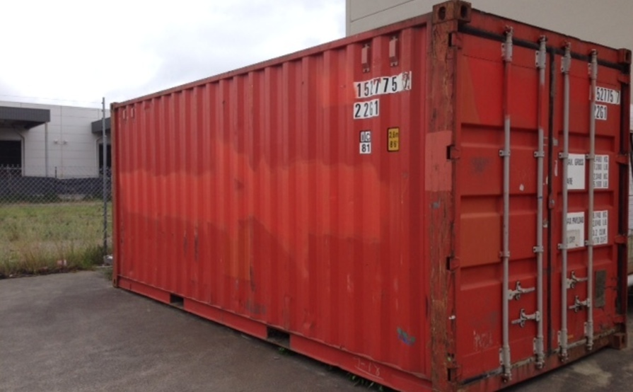 Container 20' in Moorabbin - UNAVAILABLE until further notice