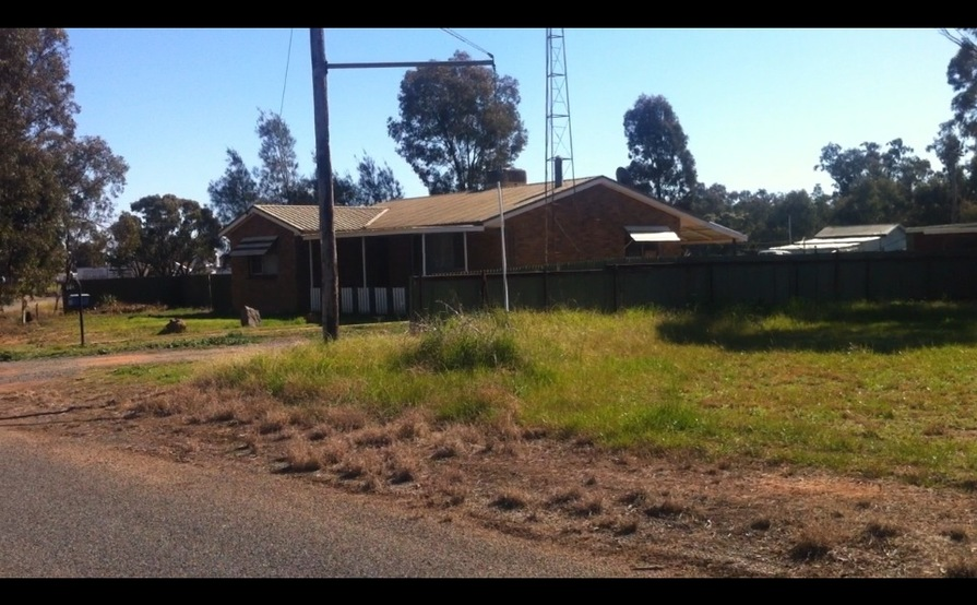 Wide, flat-grassed space perfect for Trailer in Ungarie near West Wyalong #8