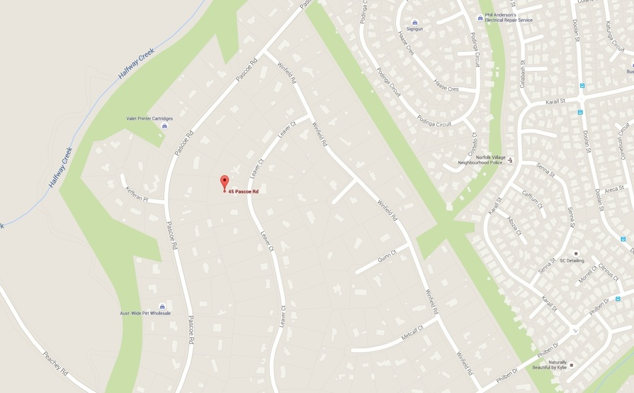APPROX 1 ACRE AT REAR OF PROPERTY IN ORMEAU