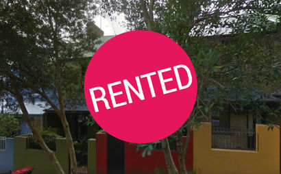 Spare bedroom  and rear courtyard in Surry Hills