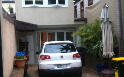 Secured car space in Surry Hills
