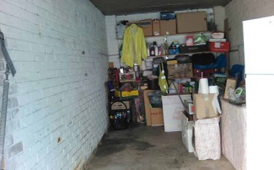 Half of a garage perfect for storage in Maroubra