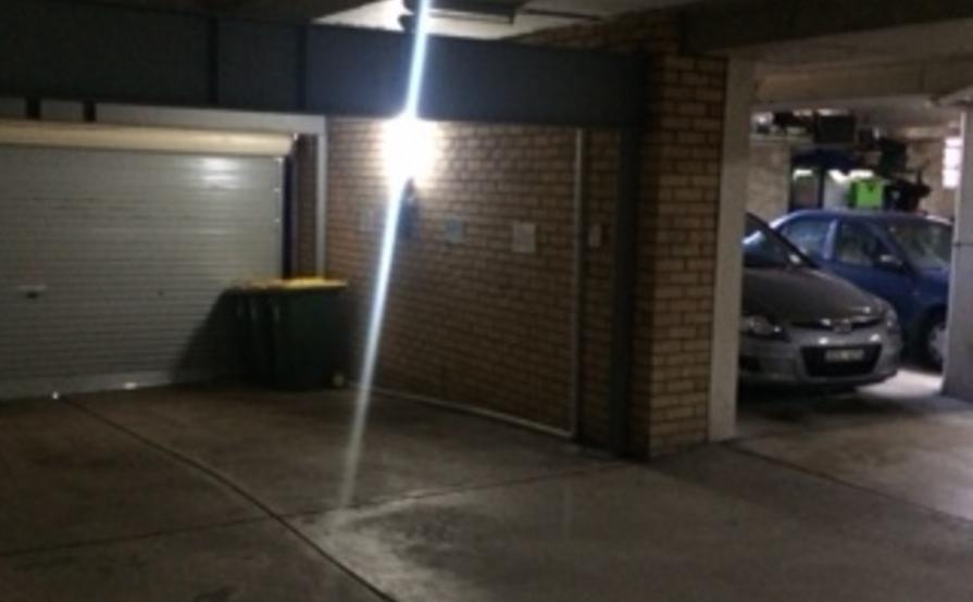 Underground secure car park space in Bronte
