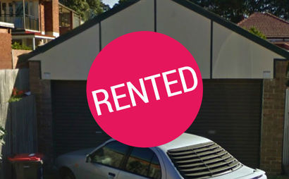 Double Lockup Garage in Marrickville