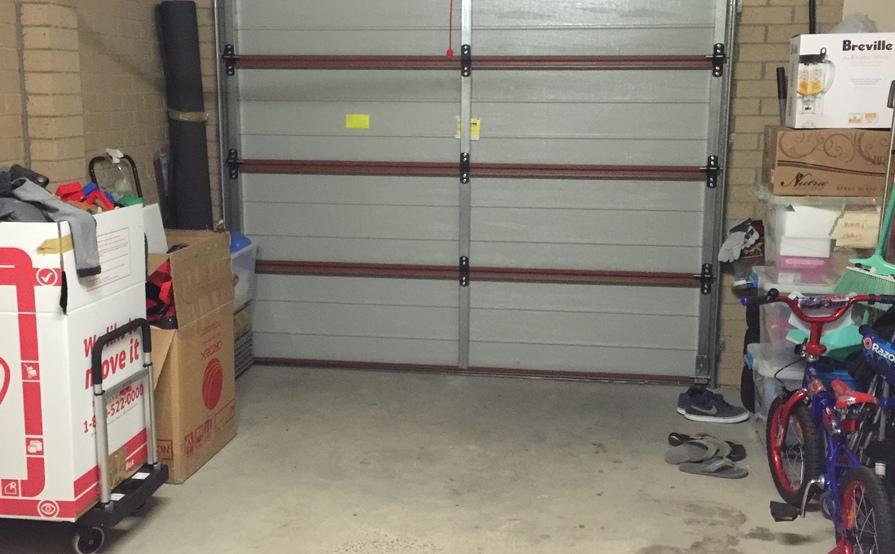 Single lock up garage