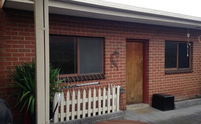 Bungalow in backyard separate from main house and has own lock-