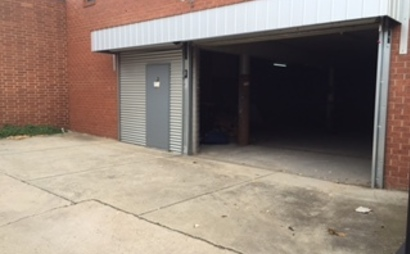 Ascot Vale Secure Garage / Warehouse (125m2).  Close to city