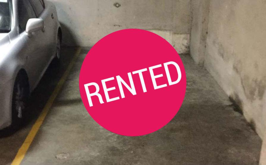 Secure underground car space