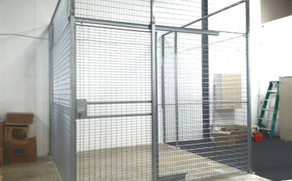 Storage cage @ Shepherd Bay, Meadowbank