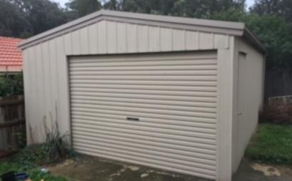 Large single garage in Greensborough/St. Helena/Eltham North
