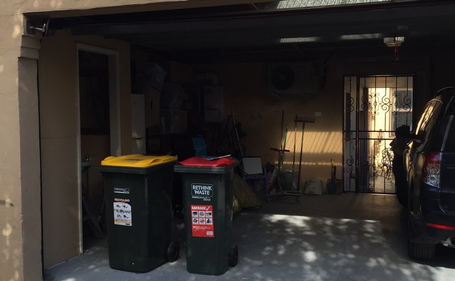 Secure, Lock-up (Roller door) Garage - Petersham, NSW.