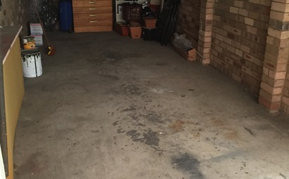 Half a garage!