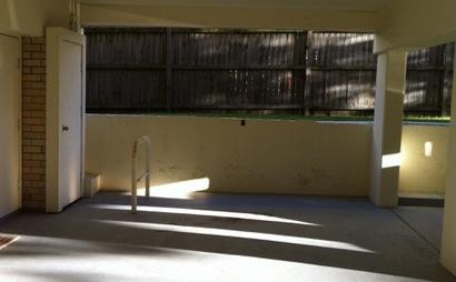 Bondi Beach - accessible car parking space
