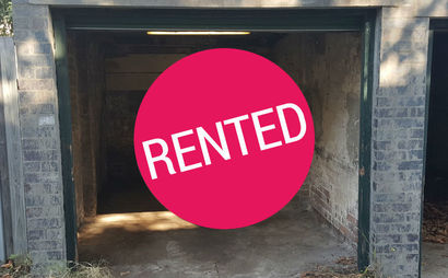 Single Garage in the Heart of Randwick for Storage or Parking.